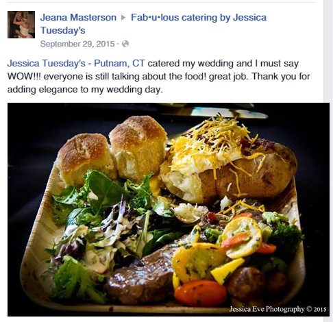 Fabulous Catering by Jessica Tuesday's reviews
